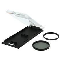 UV & Cir-Polarizing Filter Kit 58 mm