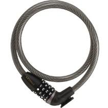 4-Digit Fietscijferslot Zinc Alloy Lock Body with ABS Housing 175 mm