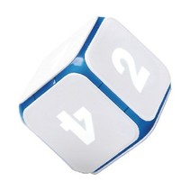 Bluetooth Interactive Dobbelsteen DICE+ World of Games Wit/Blauw
