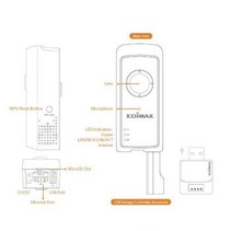 Full HD Smart Home IP-Camera Garage Door / Camera 1920x1080