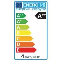 Retro LED-Filamentlamp E27 A60 4 W 450 lm 2700 K