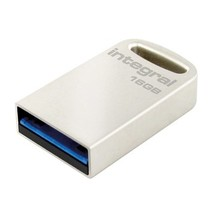 USB Stick USB 3.0 16 GB Aluminium