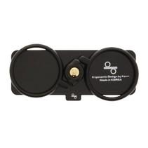 Selfie-Ring Smartphone-Houder Zwart