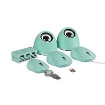 Speaker 2.0 USB 3.5 mm 6 W Groen