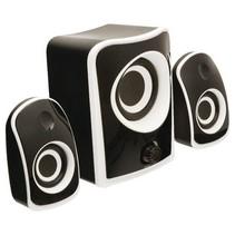 Speaker 2.1 Bedraad 3.5 mm 8 W Zwart