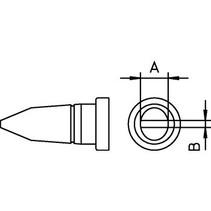 Soldeerstift Beitelvormig 3.2 mm