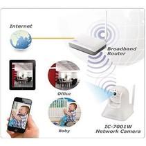 Pan-Tilt IP-Camera Binnen 720x480 Wit