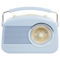 Draagbare FM-Radio FM / AM Blauw