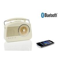 Draagbare Bluetooth Radio FM / AM AUX Beige