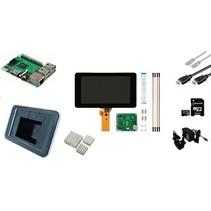 Raspberry Pi 3 LCD Starter Kit + Wi-Fi + Bluetooth + Raspbian Software