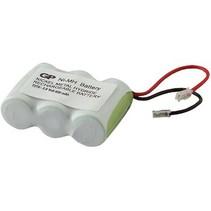 Oplaadbare NiMH Batterij Pack 3.6 V 600 mAh 1-Blister