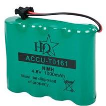 Oplaadbare NiMH Batterij Pack 4.8 V 1000 mAh 1-Blister