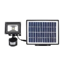 LED Floodlight met Sensor 3 W 550 lm Zwart