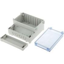PCB Enclosure DIN rail 217 x 256 x 132.5 mm