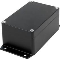 Metalen behuizing Zwart 125 x 80 x 57 mm Aluminium Alloy IP65 N/A