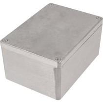 Metalen behuizing Lichtgrijs 148 x 108 x 75 mm Aluminium IP65 N/A