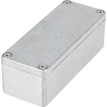 Metalen behuizing Lichtgrijs 115 x 65 x 55 mm Aluminium IP65 N/A