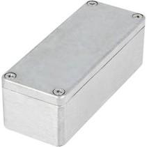 Metalen behuizing Lichtgrijs 115 x 65 x 30 mm Aluminium IP65 N/A