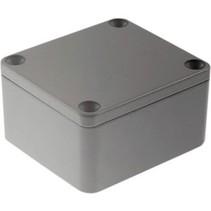 Metalen behuizing Lichtgrijs 64 x 58 x 35 mm Aluminium IP65 N/A