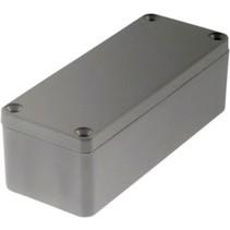 Metalen behuizing Lichtgrijs 90 x 36 x 30 mm Aluminium IP65 N/A
