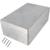 Metalen behuizing Aluminium 260 x 160 x 91 mm Aluminium IP65 N/A