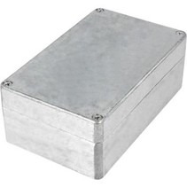 Metalen behuizing Aluminium 160 x 100 x 60 mm Aluminium IP65 N/A