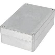 Metalen behuizing Aluminium 125 x 80 x 40 mm Aluminium IP65 N/A