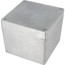 Metalen behuizing Aluminium 121 x 121 x 102 mm Aluminium IP65 N/A