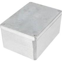 Metalen behuizing Aluminium 148 x 108 x 75 mm Aluminium IP65 N/A