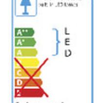 Mobiele LED Floodlight 20 W 1400 lm Zwart / Geel