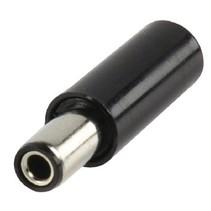 Stroomstekker Male PVC Zwart