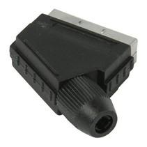 Connector SCART Male PVC Zwart