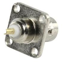 Connector BNC Female Metaal Zilver