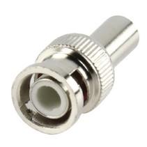 Connector BNC 6.0 mm Male Metaal Zilver
