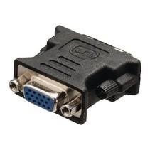 DVI-Adapter DVI-I 24+5-Pins Male - VGA Female 15-Pins Zwart