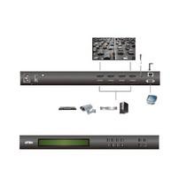 4 x 4-Poorts HDMI Matrix Zwart