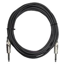 Mono Audiokabel 6.35 mm Male - 6.35 mm Male 4.00 m Zwart