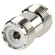 Antenne Adapter PL259 Female - PL259 Female Zilver