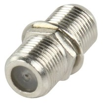 Antenne Adapter F-Connector Female - F-Connector Female Zilver