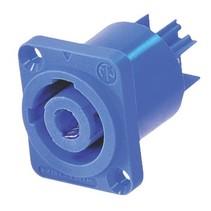 Connector Speaker Female PVC Blauw