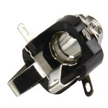 Stereoconnector 6.35 mm Female PVC Zwart