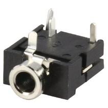 Stereoconnector 3.5 mm Female PVC Zwart