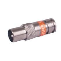 Connector RCA Male 6.0 mm Metaal Zilver