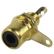 Connector RCA Female Metaal Goud