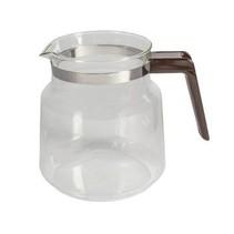 Glazen Kan 1.2 l Bruin