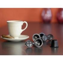 Coffeeduck Nespresso-Apparaat Zwart