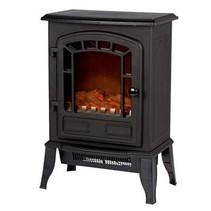 Electric Fireplace Heater Torino Vrijstaand 2000 W Zwart