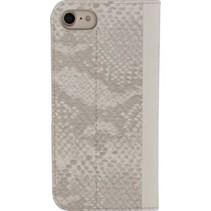 Smartphone Premium Gelly Book Case Apple iPhone 7 Grijs