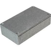 Metalen behuizing Grijs 112 x 62 x 31 mm Die cast aluminium IP54 N/A
