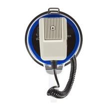 Megafoon Ontkoppelbare Microfoon Wit/Blauw